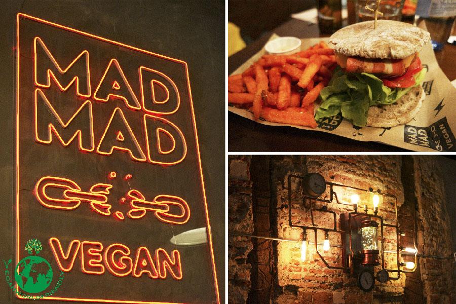 """""""Enloqueciendo"""" en Mad Mad Vegan con sus deliciosas hamburguesas"""