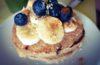 Pancakes de tofu con avena